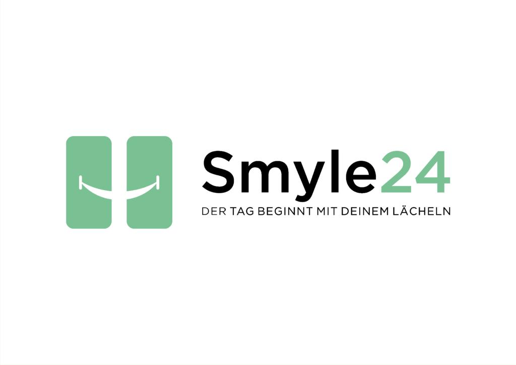 Smyle24 logo auf weiß
